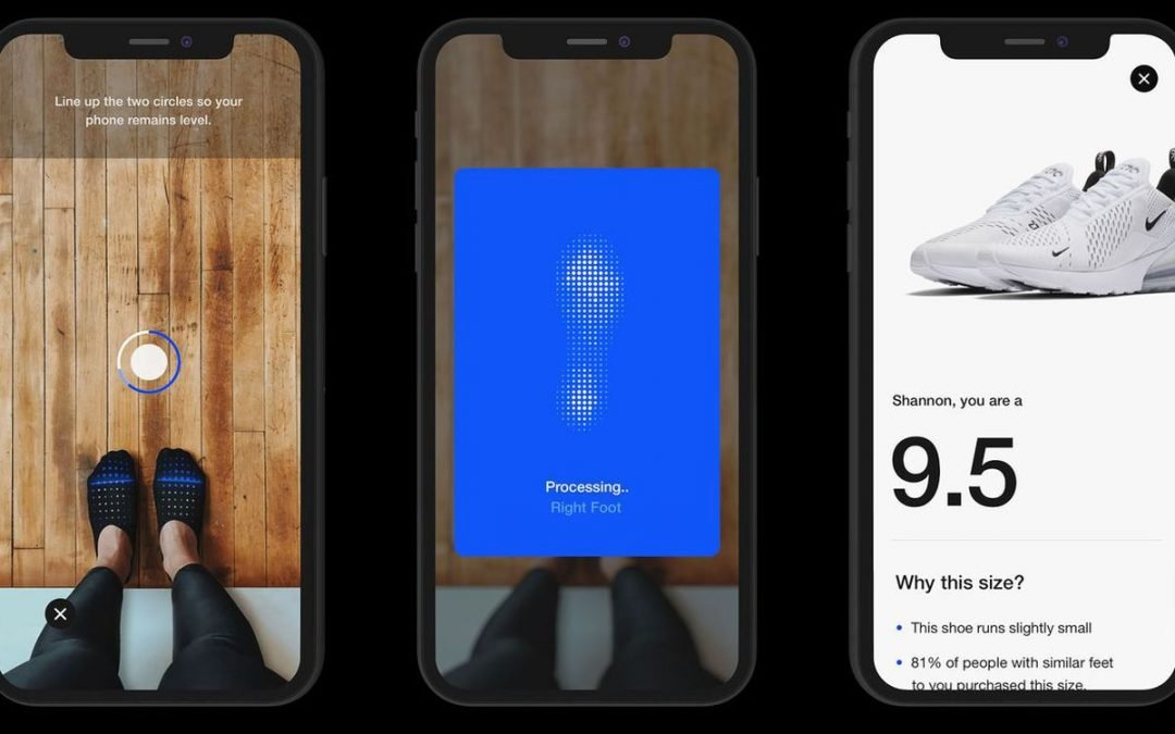 Nike's new app uses AR to measure your feet to sell you sneakers that fit – The Verge