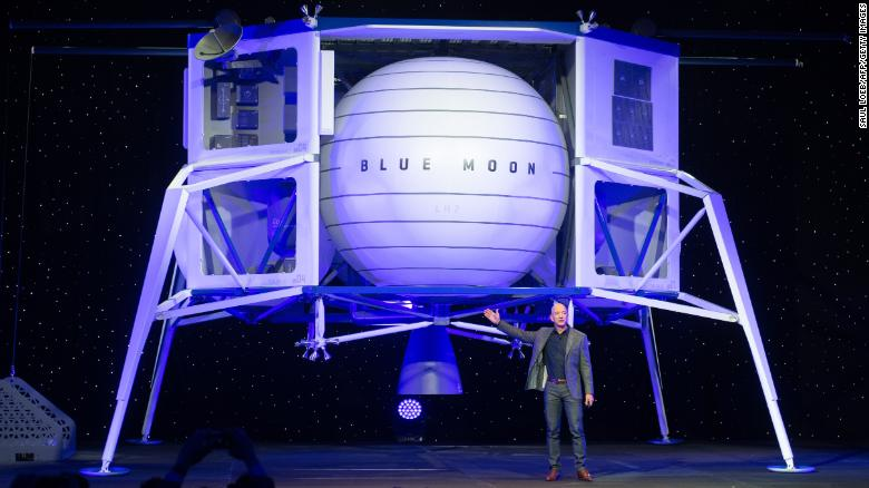 Jeff Bezos wants Blue Origin to go to the moon. Here's why that's a big deal – CNN