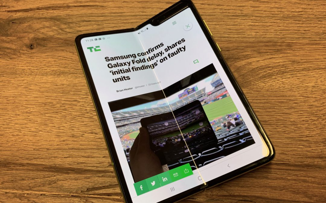 AT&T cancels Samsung Galaxy Fold orders | TechCrunch