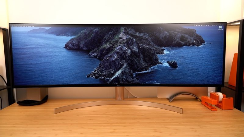 Hands-On With LG's Massive 5K 49-Inch $1,500 Display – MacRumors