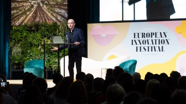 Yuval Noah Harari: Humans are on the verge of merging with machines