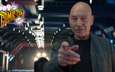 Star Trek Picard First Trailer Reveals Borg Return at Comic-Con