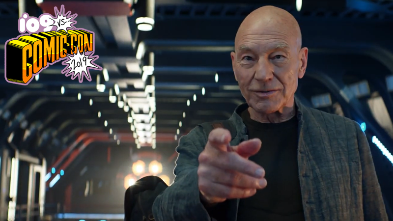 Star Trek Picard First Trailer Reveals Borg Return at Comic-Con