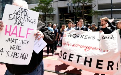 Uber and Lyft paid drivers to protest California's AB5 bill — Quartz