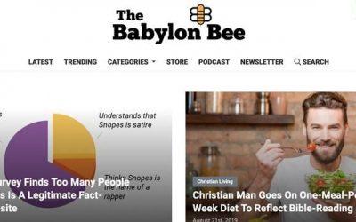 A 'Fact Checker' Declares War On Satire – WSJ