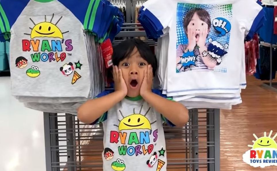 Ryan ToysReview YouTube channel starring boy, 8, who makes £17MILLION a year is probed for 'deceiving kids into buying toys' – The Sun