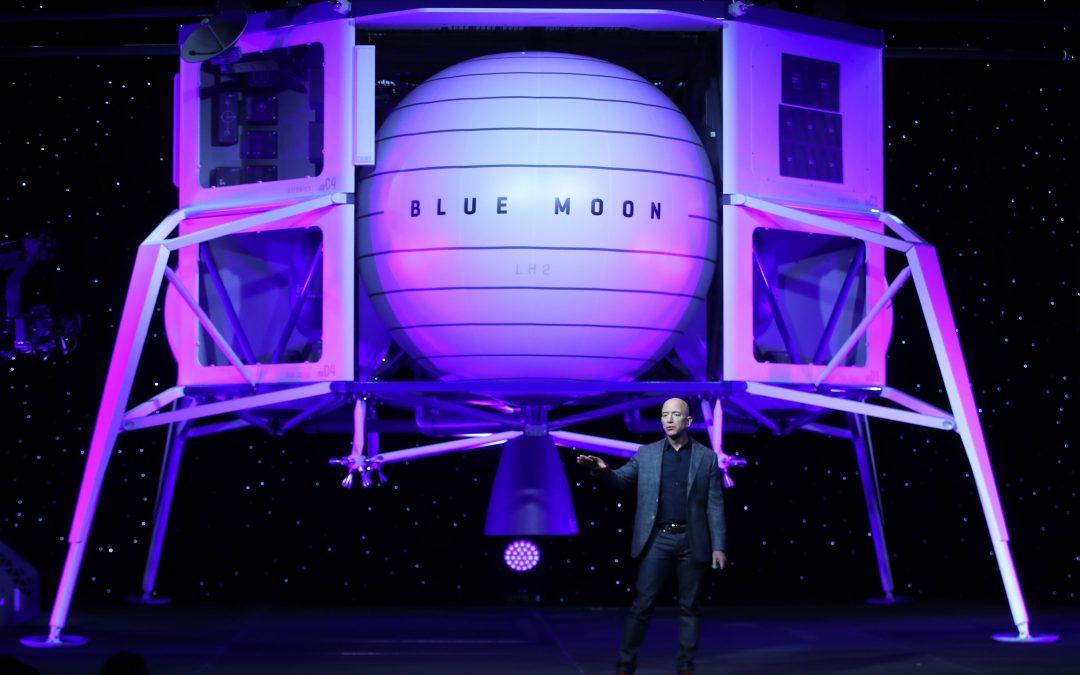 Bezos: Blue Origin will work on lunar lander with Lockheed, Northrop & Draper