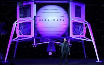 Bezos: Blue Origin will work on lunar lander with Lockheed, Northrop & Draper