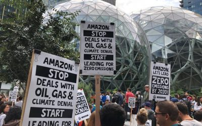 Amazon threatens to fire workers who are outspoken on its environmental policies | The Seattle Times