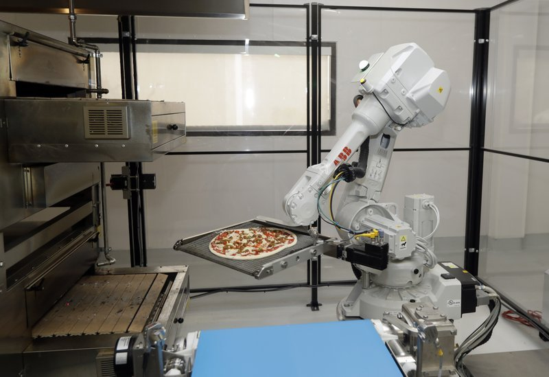 Robots out of work as automated businesses close in Bay Area