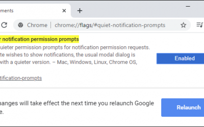 Web Browsers Are Silencing Annoying Notification Popups