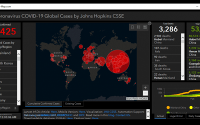 Hackers are using coronavirus maps to infect your computer