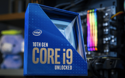 Intel unveils 10th-gen desktop CPUs, including 5.3GHz flagship