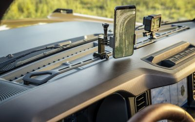 Forget the Bronco's off-road chops, look at this gadget mounting bar | TechCrunch