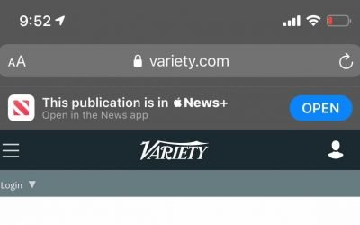 Smart Banners point to Apple News instead of publisher apps in iOS 14 | Appleinsider