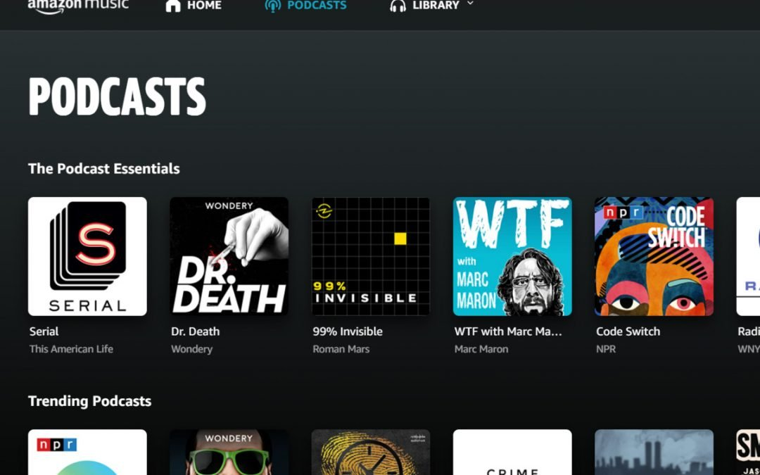 Amazon Music rolls out free podcasts, taking on Spotify | TechHive