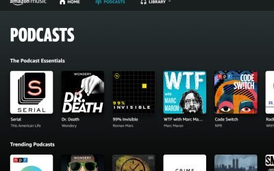 Amazon Music rolls out free podcasts, taking on Spotify   TechHive