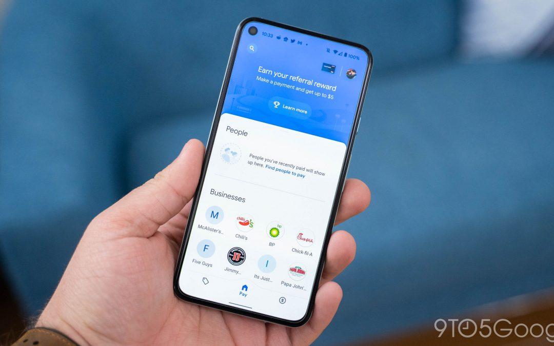 New Google Pay kills web app, raises transfer fees – 9to5Google