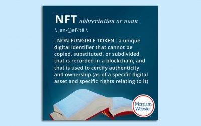 """""""NFT"""" gets dictionary treatment – Axios"""
